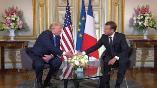 """Selon Donald Trump, """"La France et les États-Unis ont une relation exceptionnelle."""""""