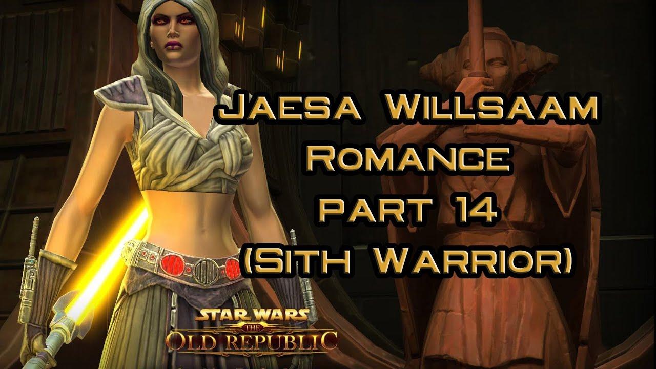 Swtor Jaesa Willsaam Romance Part 14 Marriage Proposal Version 1
