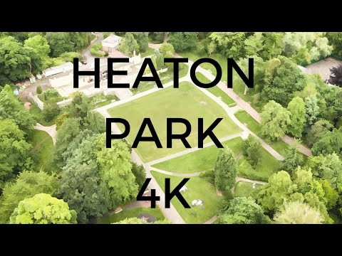 HEATON PARK Drone AWESOME 4K Footage 'classical Cut' | Newcastle-Upon-Tyne | - #EpicDroneClips No.4