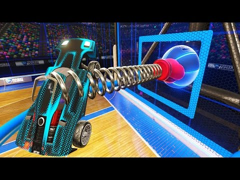 ROCKET LEAGUE RUMBLE WITH CRAZY MAPS AGAINST YOU!