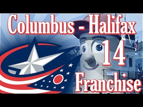 Second Line Studs | NHL 17 Columbus/Halifax Franchise Mode - Ep. 14
