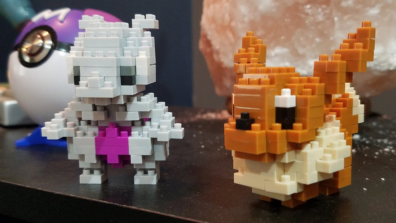 Mewtwo And Eevee Lego Pokémon Pokémart 3 Youtube