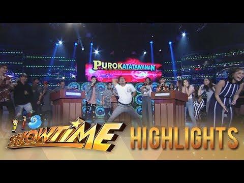 Download It's Showtime PUROKatatawanan: Team Boys win over Team Girls