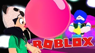 I FLOATED UP the GENIUS with a GIANT GUMBALL | Roblox (Bubble Gum Simulator)