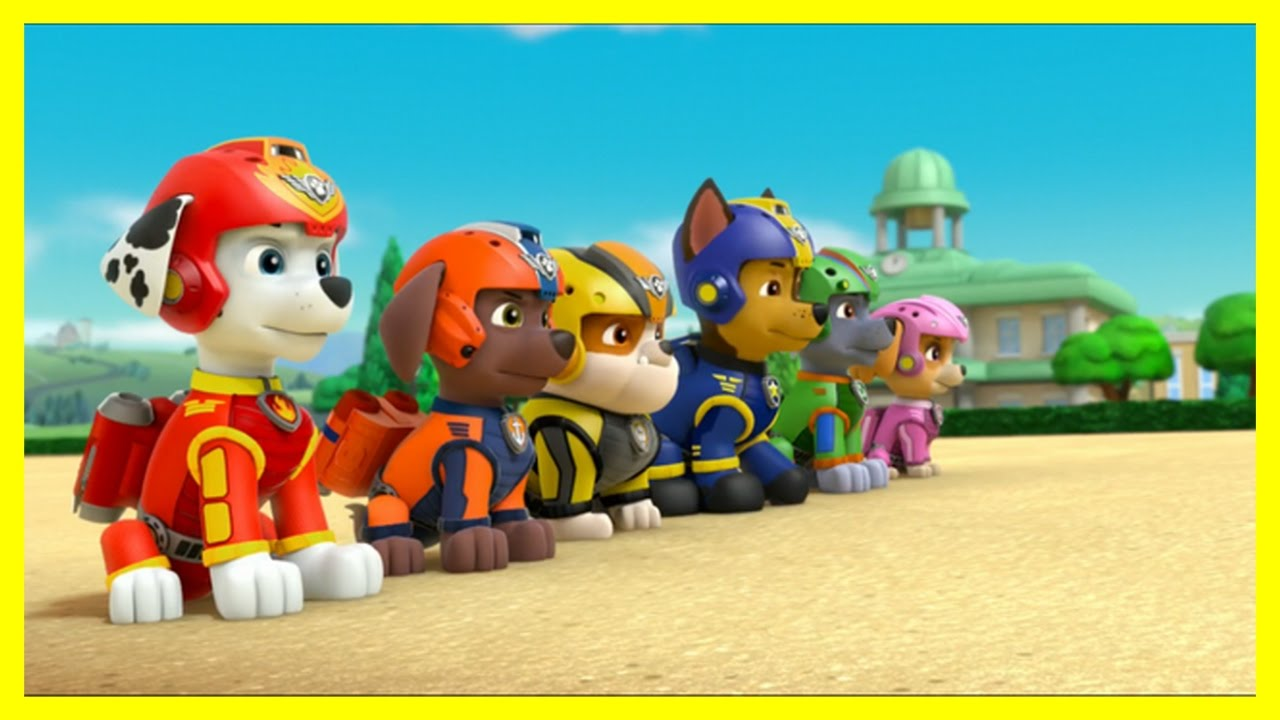 paw patrol air pups youtube