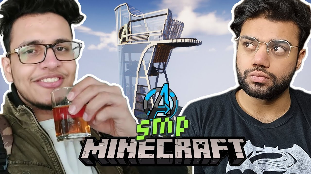 Triggered Insaan Invited Me To His Minecraft SMP | Avengers SMP !!!