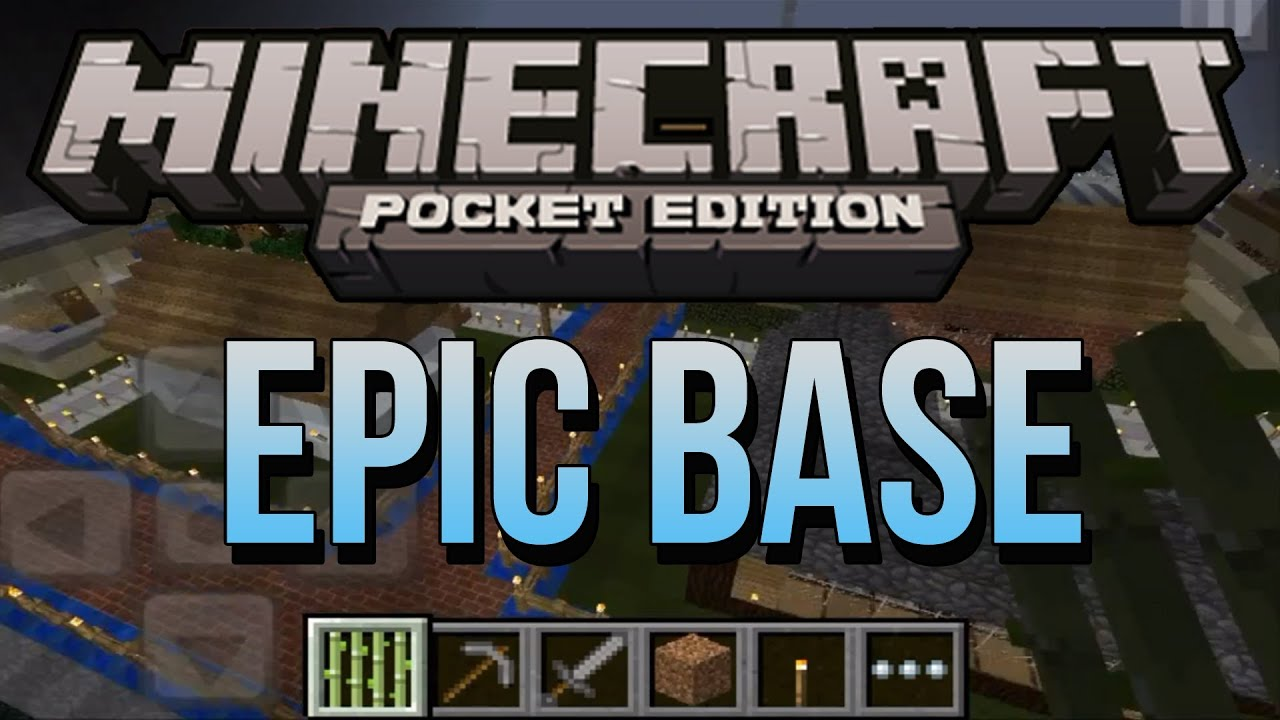 how to make a army base in minecraft pe