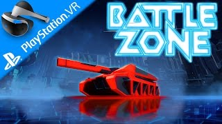 PSVR Battlezone VR Gameplay German #1 – Panzer, ich begrüße Sie – Lets Play Playstation VR Deutsch