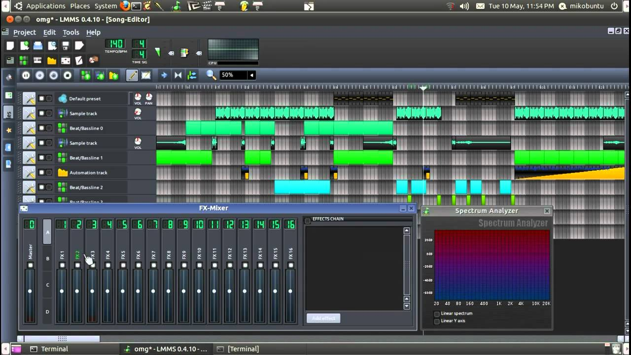 Linux MultiMedia Studio (or LMMS) - John's Blog Space