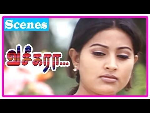 Vaseegara Tamil Movie | Scenes | Sneha troubles Vijay | Vijay agrees to draw Sneha's eyes