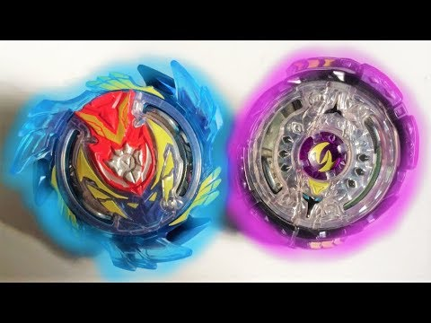 Strike Valtryek V3 6Vortex Reboot vs Noctemis N3 2 Jaggy: Beyblade Burst Evolution