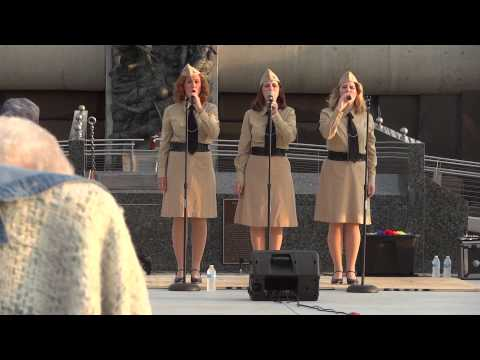 Tribute to Andrews Sisters and WWII Veterans, Bedford, Va. 8-11-2012