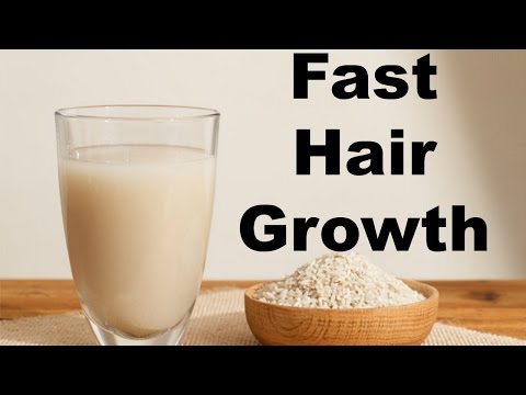 DIY Rice Water FAST GROWTH+REPAIR DAMAGE