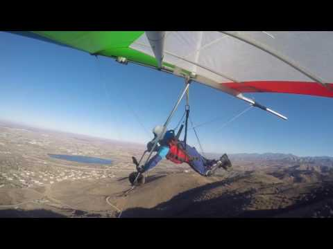 13th Hang Gliding Flight  - Ave. S in Palmdale, CA