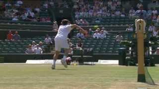 Wimbledon: 2013 Day 13 Highlights: Hyeon Chung v Gianluigi Quinzi