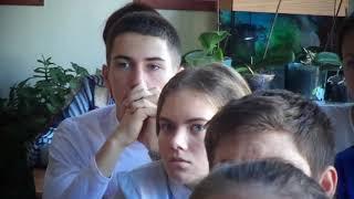 Просмотр учениками  документального фильма И.П. Павлов