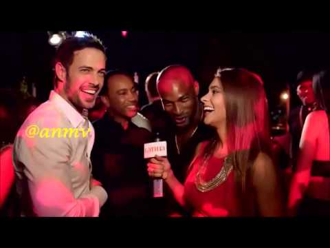 Tyson Beckford Rubs William Levy's (@willylevy29) Chest & We're Dying