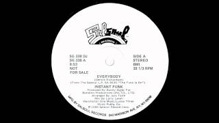 Everybody - INSTANT FUNK
