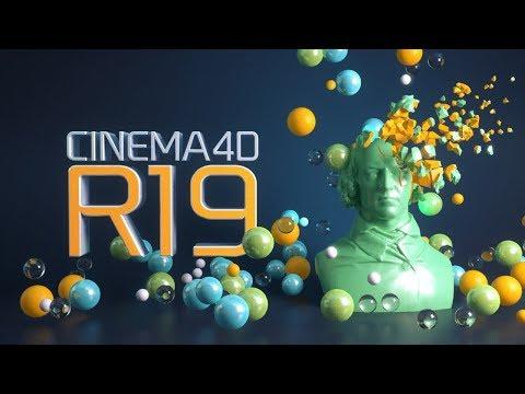 Что нового в Cinema 4D R19.