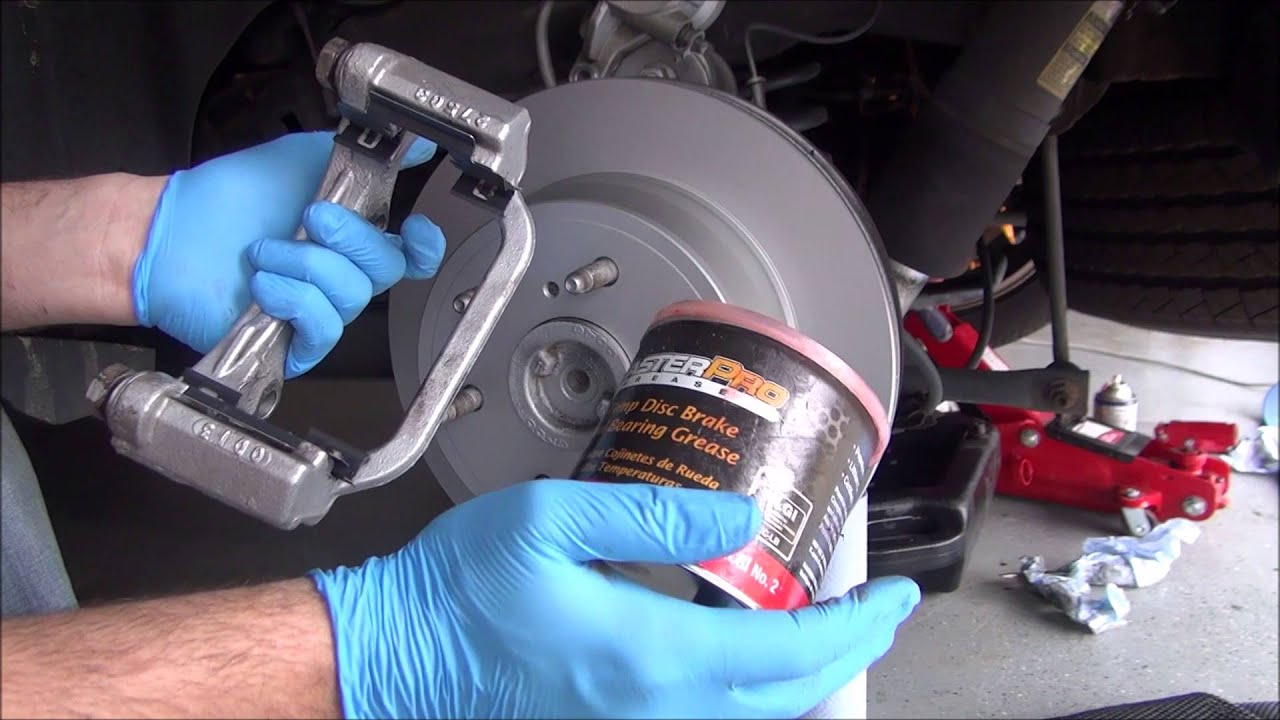 Brake Pads And Rotors >> 2010 (2007-2014) Cadillac Escalade Rear Brake Change - Bosch Quiet Cast Rotors - YouTube