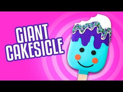 Giant Cakesicle Cake | How To Cake It