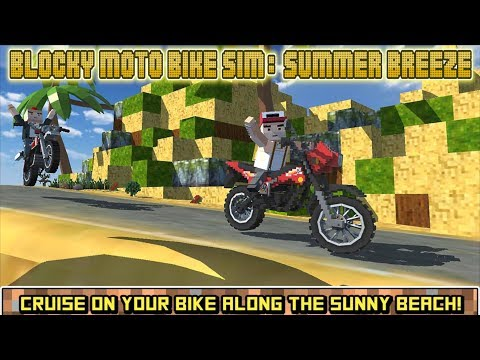 🏍🛣Blocky Moto Bike SIM: Summer Breeze-By TrimcoGames-Android