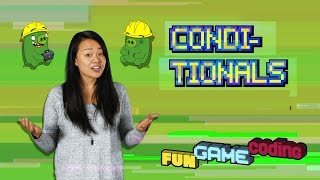 Angry Birds Fun Game Coding | Conditionals - S1 Ep3