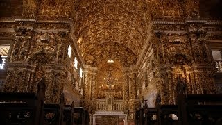 The Sao Francisco Church - Seven Wonders of Brazil: Preview - BBC Two