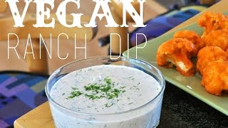Easy Vegan Recipes | Vegan Ranch Dip