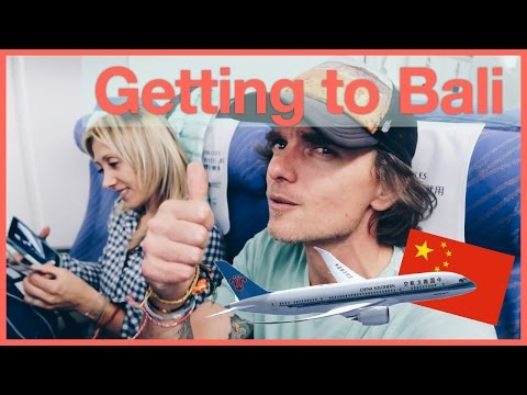 Travel Bali Day 1 - 33 hours on a China Southern Plane to get to Bali