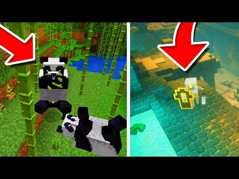 NEW MCPE UPDATE FEATURES!!! - Minecraft Pocket Edition