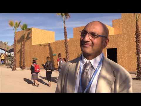 Interview with Sivan Kartha at COP 22 in Marrakech