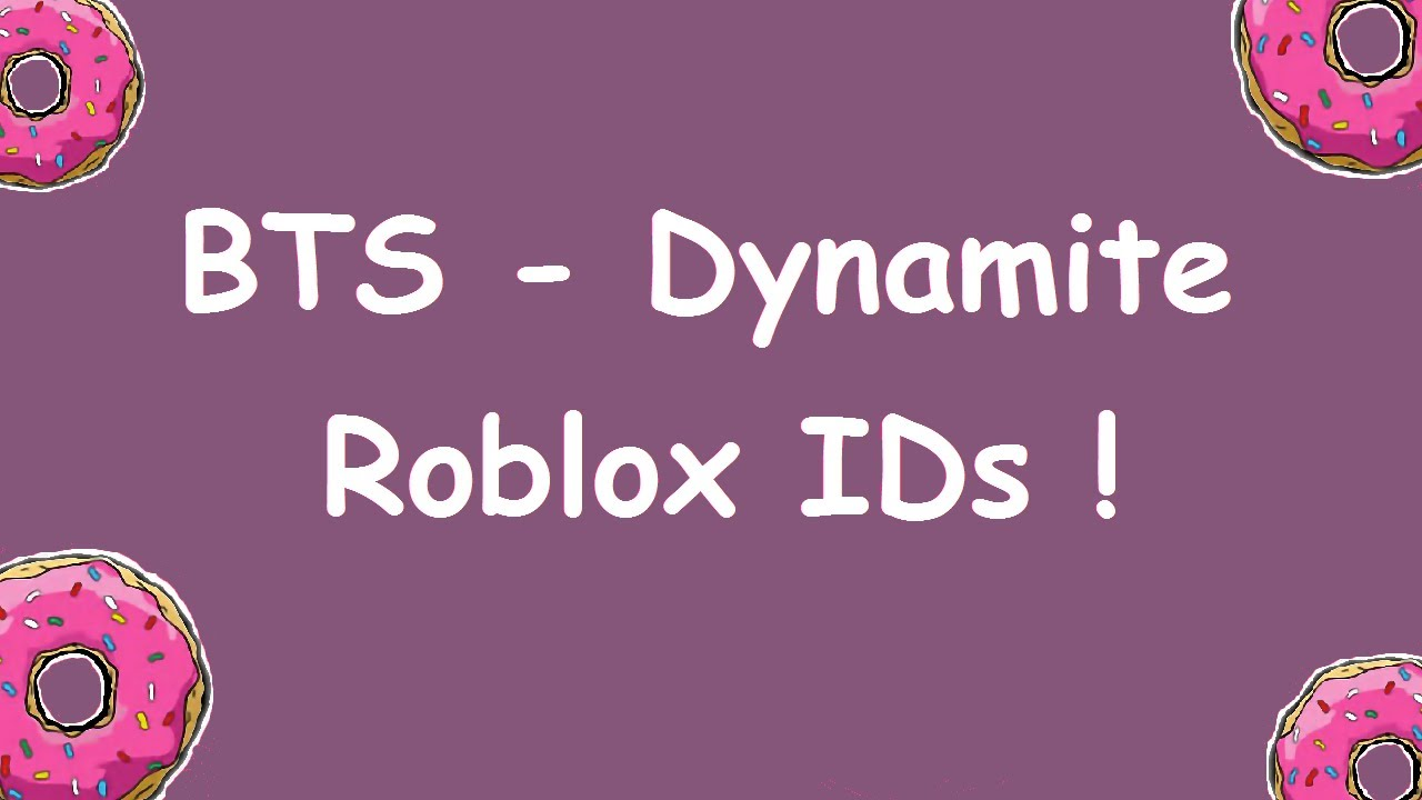 Bts Radio Codes For Roblox Bts Dynamite Roblox Codes And Ids 방탄소년단 Dynamite Roblox Code And Id Youtube