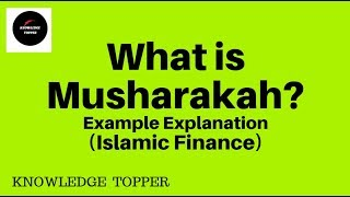 What is Musharakah? Example Explanation (Urdu)