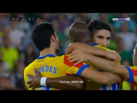 1` Parte Goles Valencia CF 2017- 2018