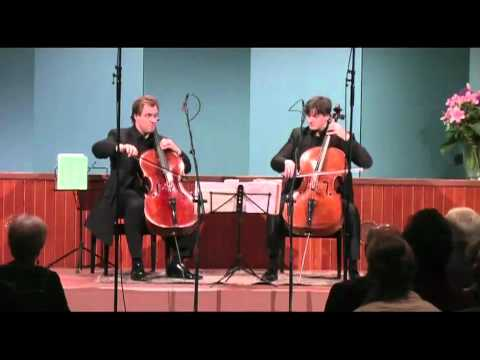 Cello Duello plays Händel-Halvorsen