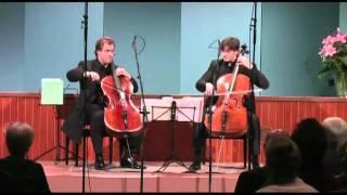 Cello Duello plays Händel-Halvorsen