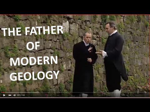 """James Hutton, """"father of modern geology"""""""