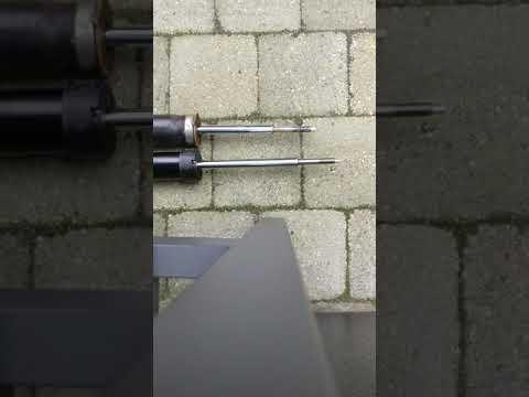 Old Monroe Reflex shocks vs new Sachs M shocks (BMW E90)