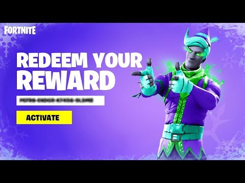 REDEEM YOUR FREE GIFT In Fortnite! (MINTY ELF)