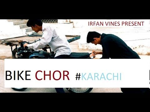 BIKE THEFT LIKE THAT IN KARACHI (funny chor)
