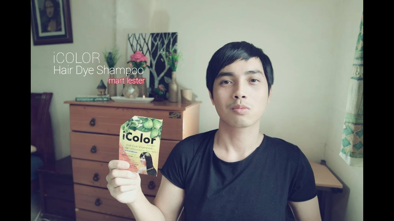 iColor Hair Dye Shampoo Review - YouTube