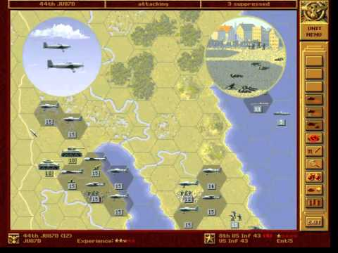 Let's Play - Panzer General - Part 059 - Washington (alternative) - 001 - by MrKritik77