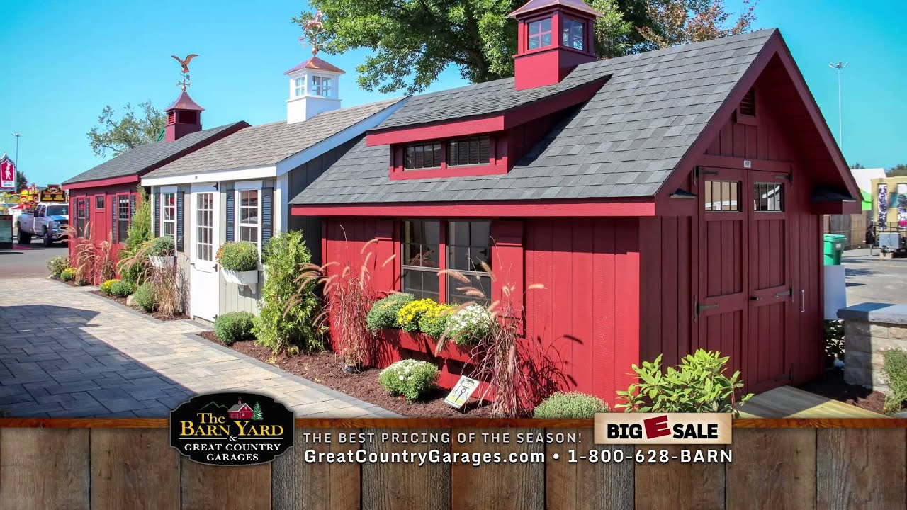 Our Latest TV Commercials: The Barn Yard & Great Country Garages