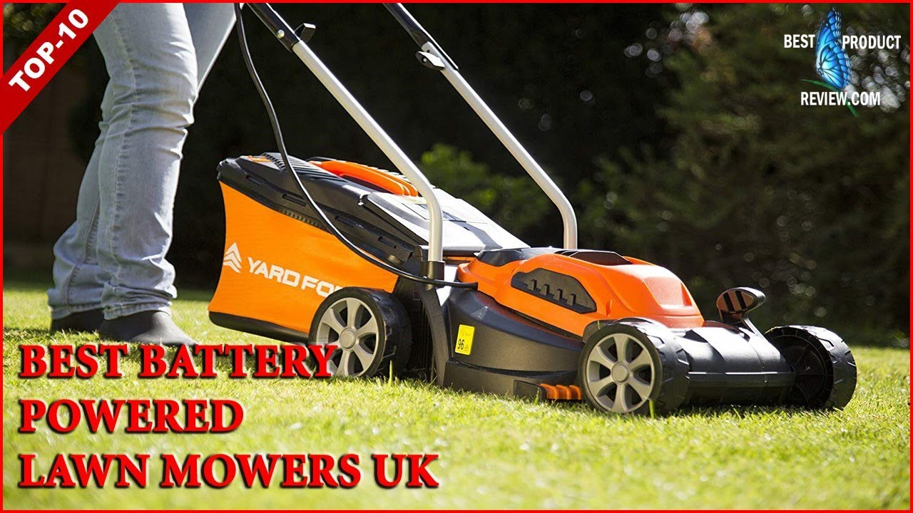 best battery powered lawn mower top 10 best rated. Black Bedroom Furniture Sets. Home Design Ideas