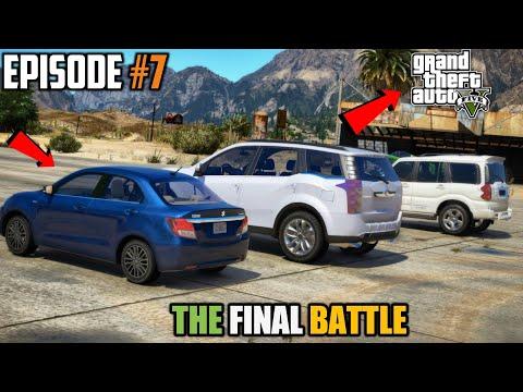 GTA 5: THE INDIAN CARS RACE   SCORPIO VS XUV 500 VS DZIRE
