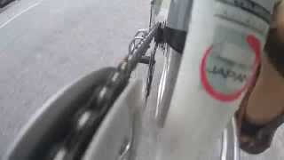 How does a Rear Derailleur work?. Doppelganger Japanese Folding Bicycle  - HD