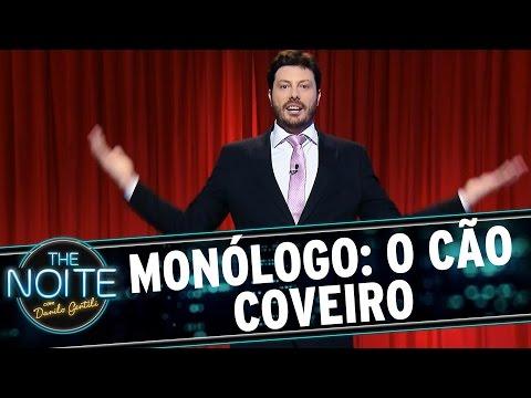 The Noite (14/08/15) - Monólogo: Cachorro Vira Funcionário De Cemitério Em Santos