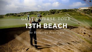 Flyover of 13th Beach Golf Links, Bellarine Peninsula, Victoria, Australia