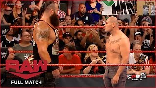 FULL MATCH - Braun Strowman vs. Cain Velasquez : RAW, Oct 14, 2019